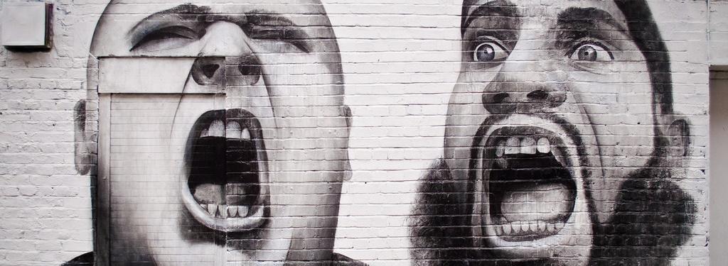 Shout - graffiti