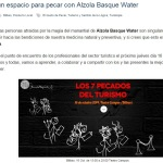 Alzola Basque Water post
