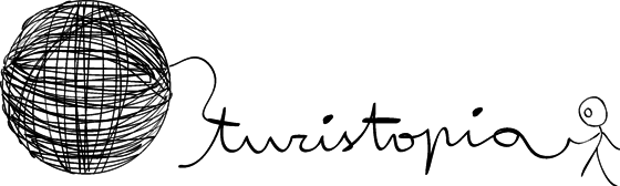 Logotipo Turistopia medio