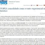 Caribbean News - TURISTOPIA consolidada como evento experiencial en el sector turístico