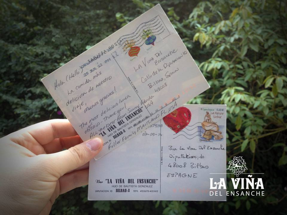Carta la Viña