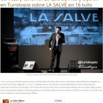 La Salve - Cerveza y turismo - Lo que dijimos y dijeron en Turistopía sobre LA SALVE en 16 tuits