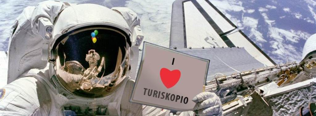 I love Turiskopio (from the Russian space station)