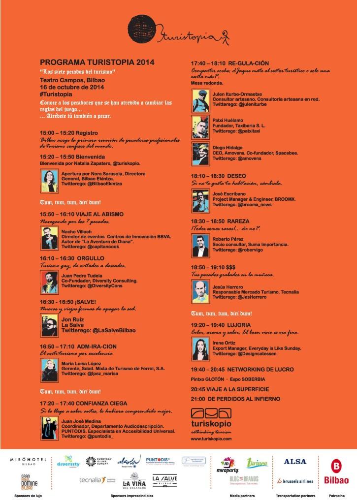 Programa Turistopía 2014 - Resumen