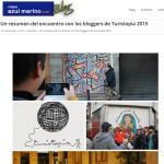 Azul Marino - Un resumen del encuentro bloggers de Turistopia 2015