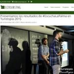 Ecotouristing - Presentamos los resultados de #EscuchalaPalma en Turistopia 2015