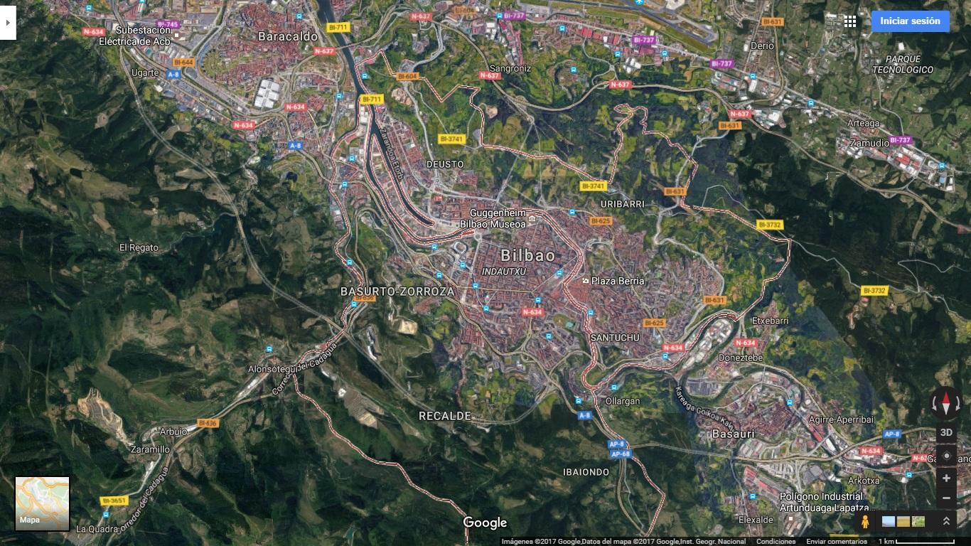 Como llegar - Turistopia en Bilbao