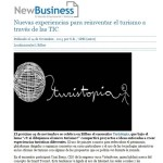 New Business - Nuevas experiencias para reinventar el turismo a través de las TIC