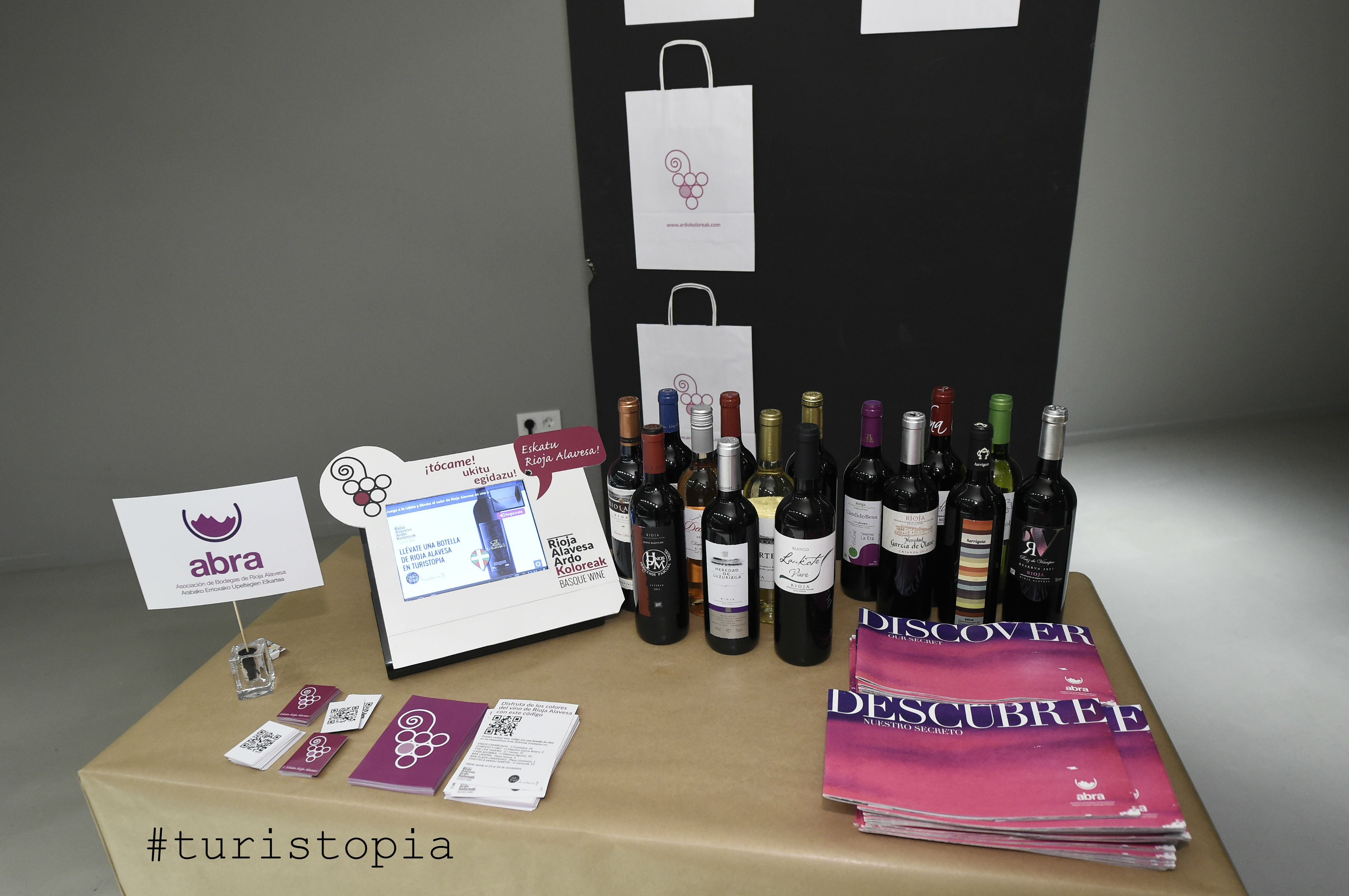 Botellas de vino ABRA