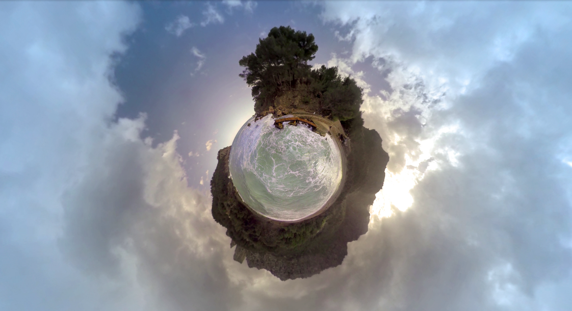 Corona little planet - Iralta VR